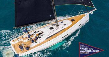 Il nuovo Grand Soleil 44 vince il British Yachting Award 2020