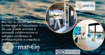 Parterneship commerciale mar-Go e 3D Yacht