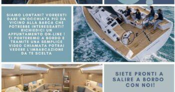 visite a bordo a distanza on line